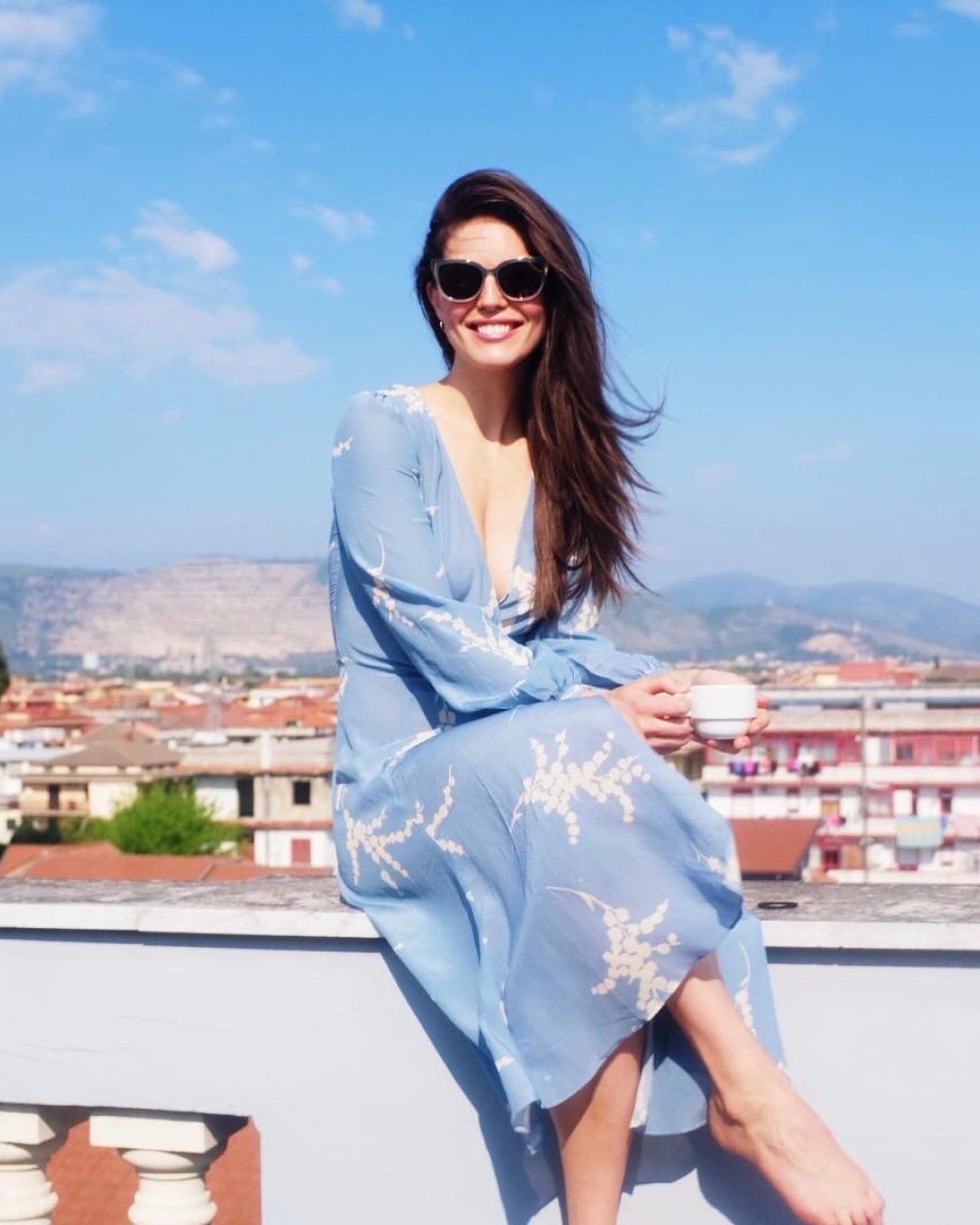 aeaf11db4c6 Realisation Par - Violette Dress Summer Loving Blue Size 14