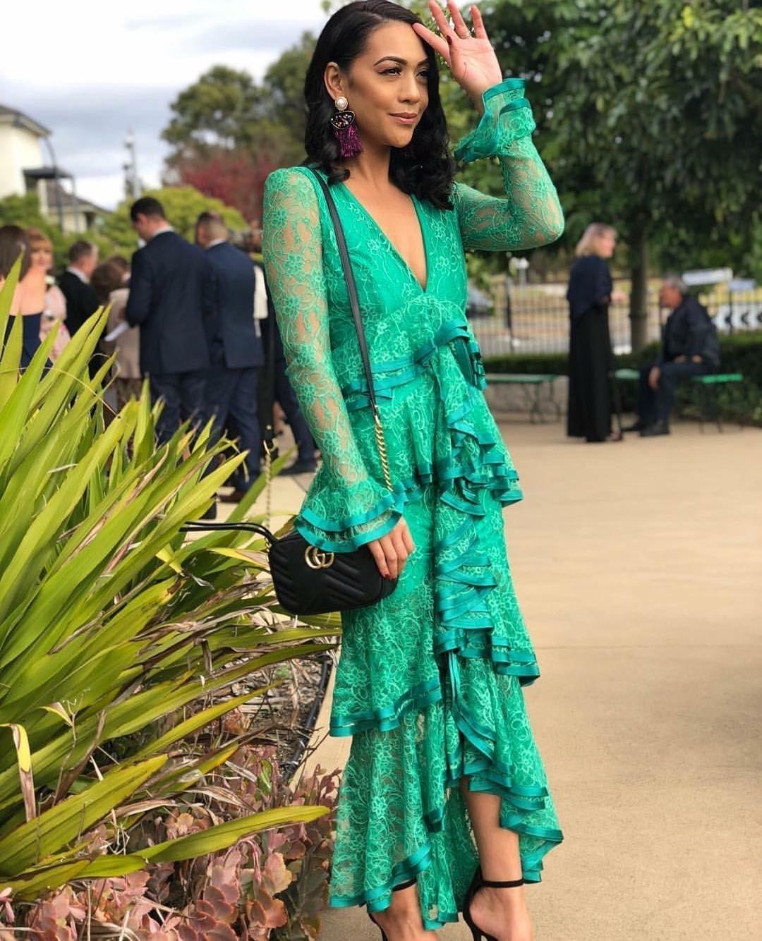 Nicola Finetti Maia Green Dress Size 8 The Volte