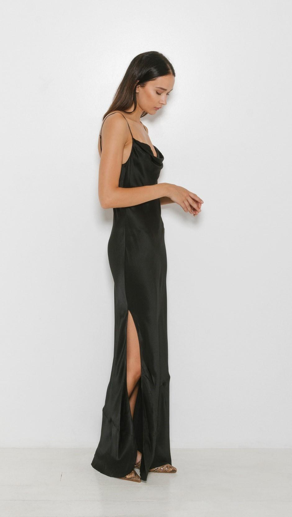 Nili Lotan Alexa Dress Black size 8 | The Volte