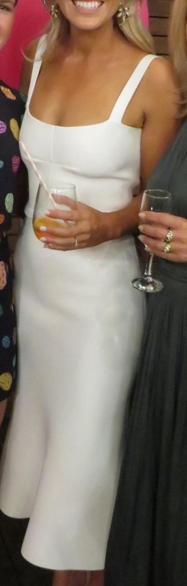 616b6a397335c ... Scanlan Theodore Crepe Knit Bralette Dress ...