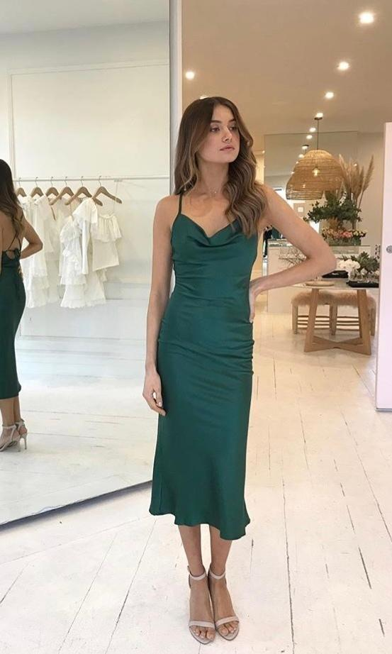 By Nicola Love On The Brain Dress Green size 12 | The Volte