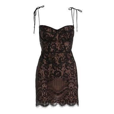 Tati Lace Corset Dress The Volte