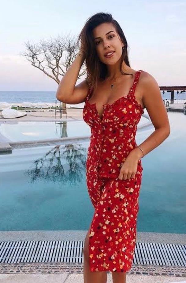 a0514b0080 Realisation Par  The Juliet - Rouge Fleur Dress  red size 14