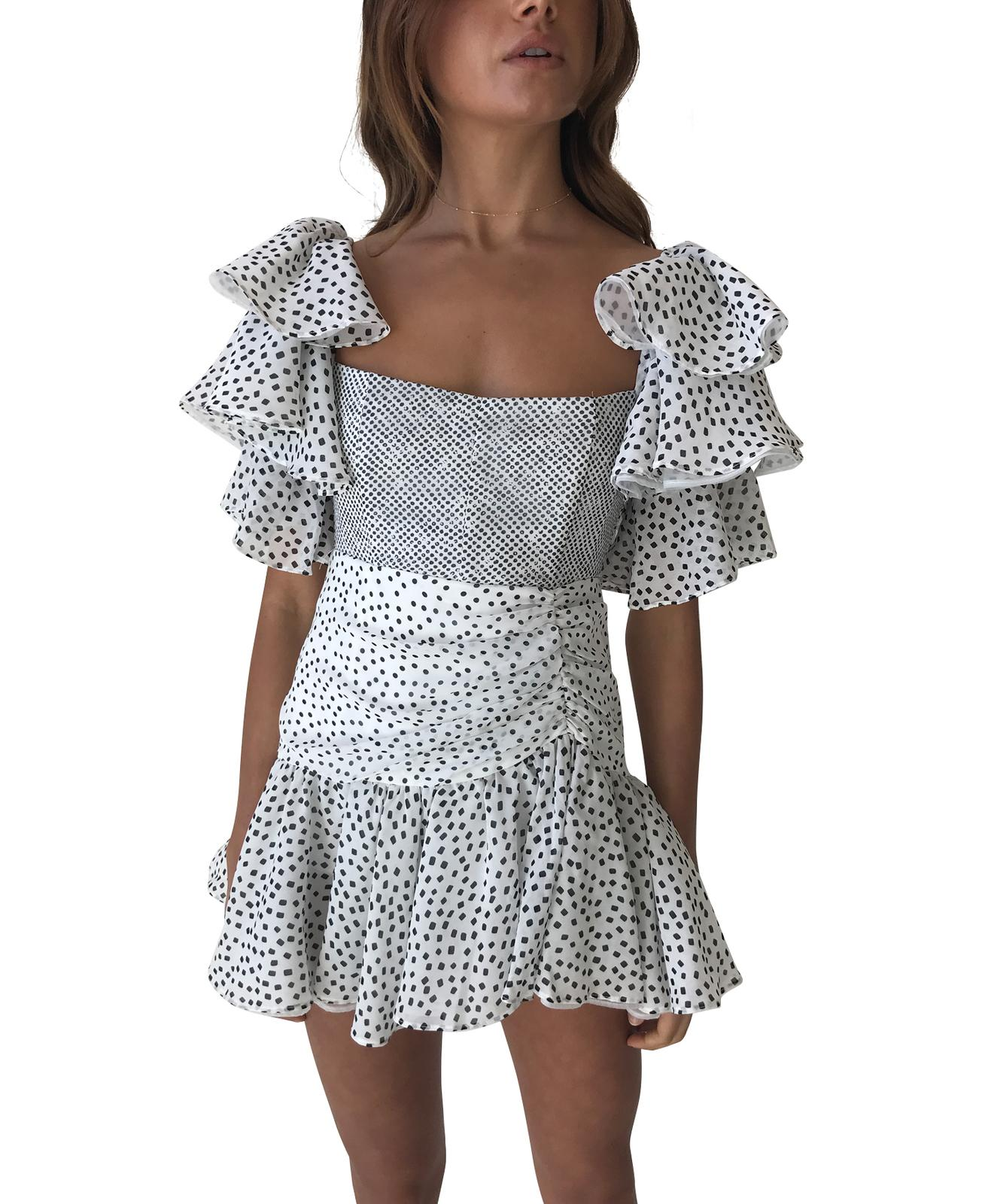 It's just an image of Critical Sofia the Label Florence Mini Dress