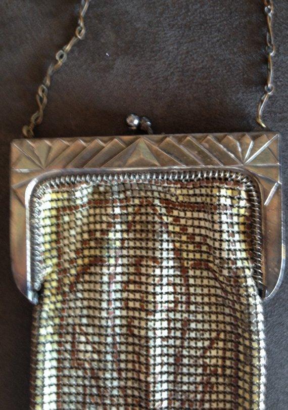 1920 mesh whiting davis bag Whiting &