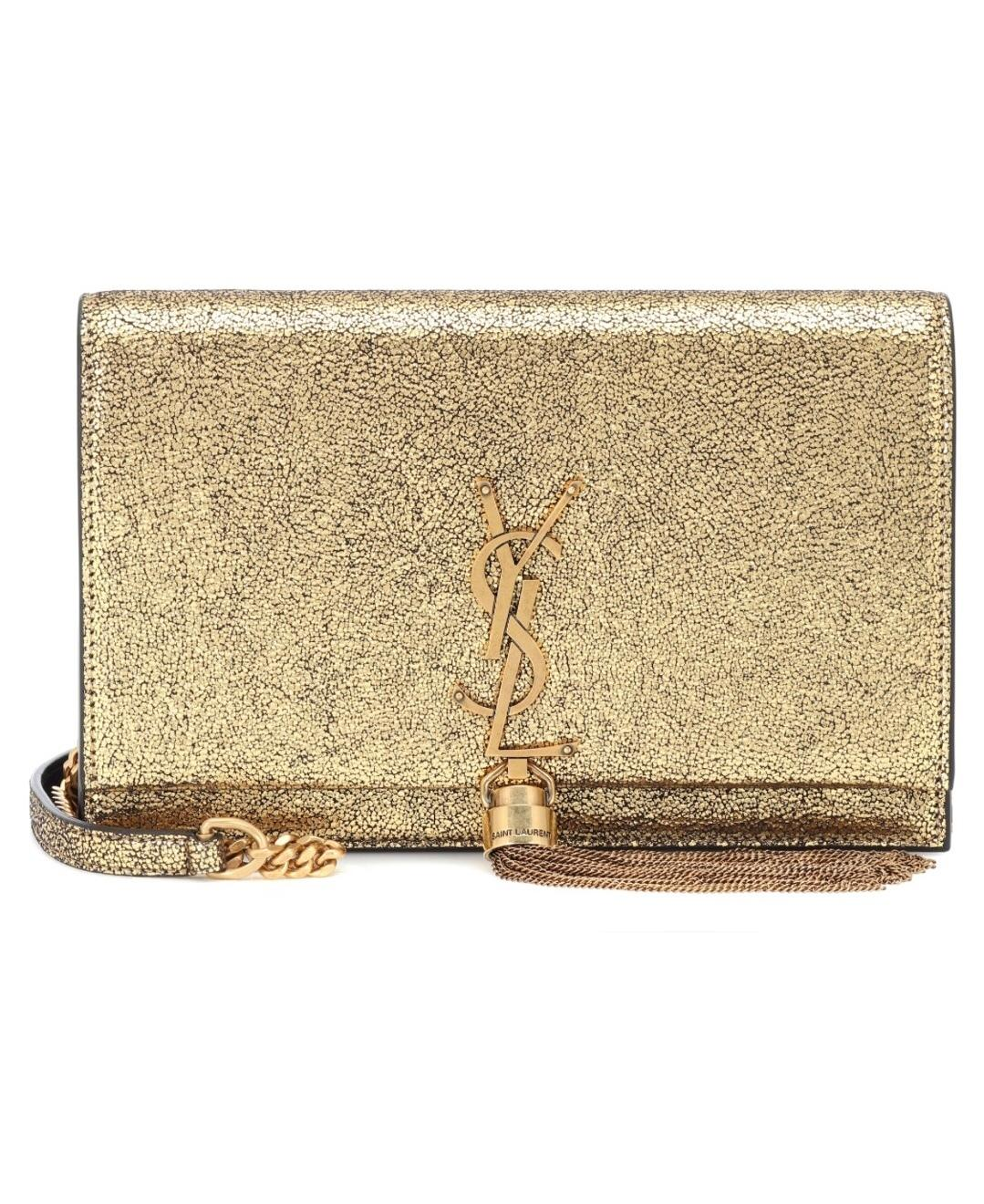 6259cc6383 Champagne YSL Tassel Bag