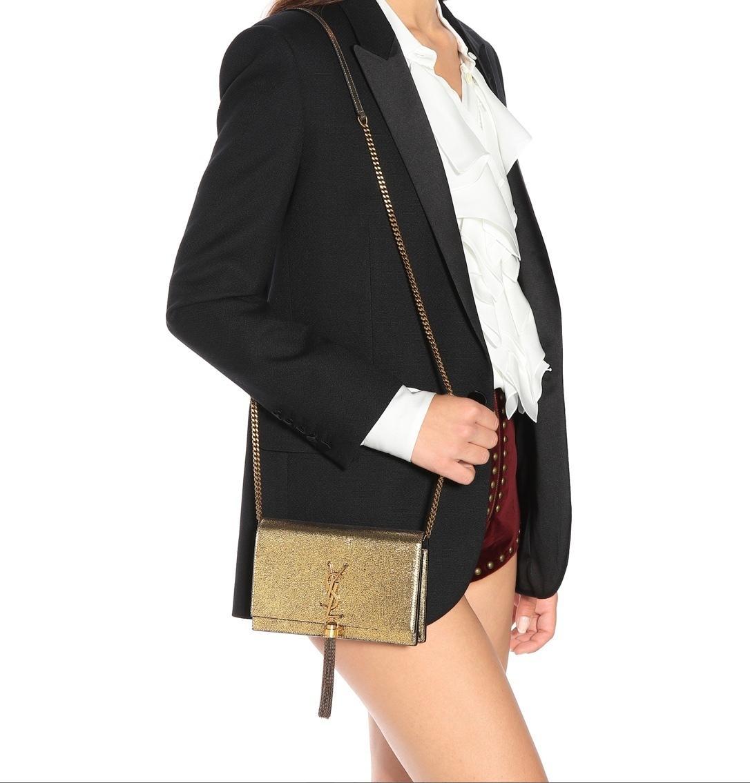 Champagne YSL Tassel Bag · Champagne YSL Tassel Bag ... c8ddd391fc8c0