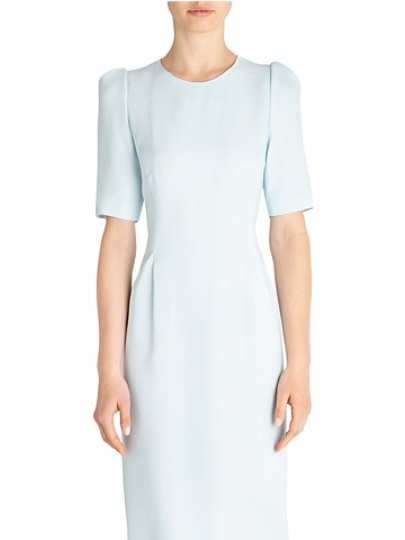 Carla Zampatti First Lady Of Fashion Chemise Pale Blue The Volte