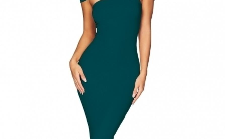 a48824433c0c Alchemy Off Shoulder Midi Teal - For Sale ...