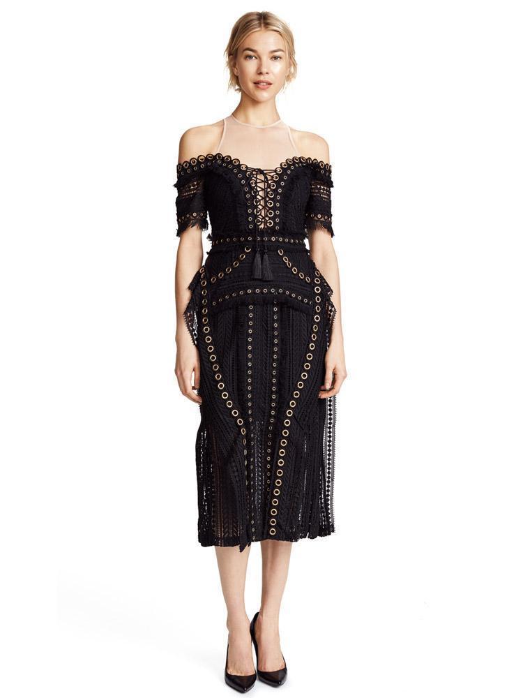 ee3776d67d6 Thurley Black Magic Dress Size 8