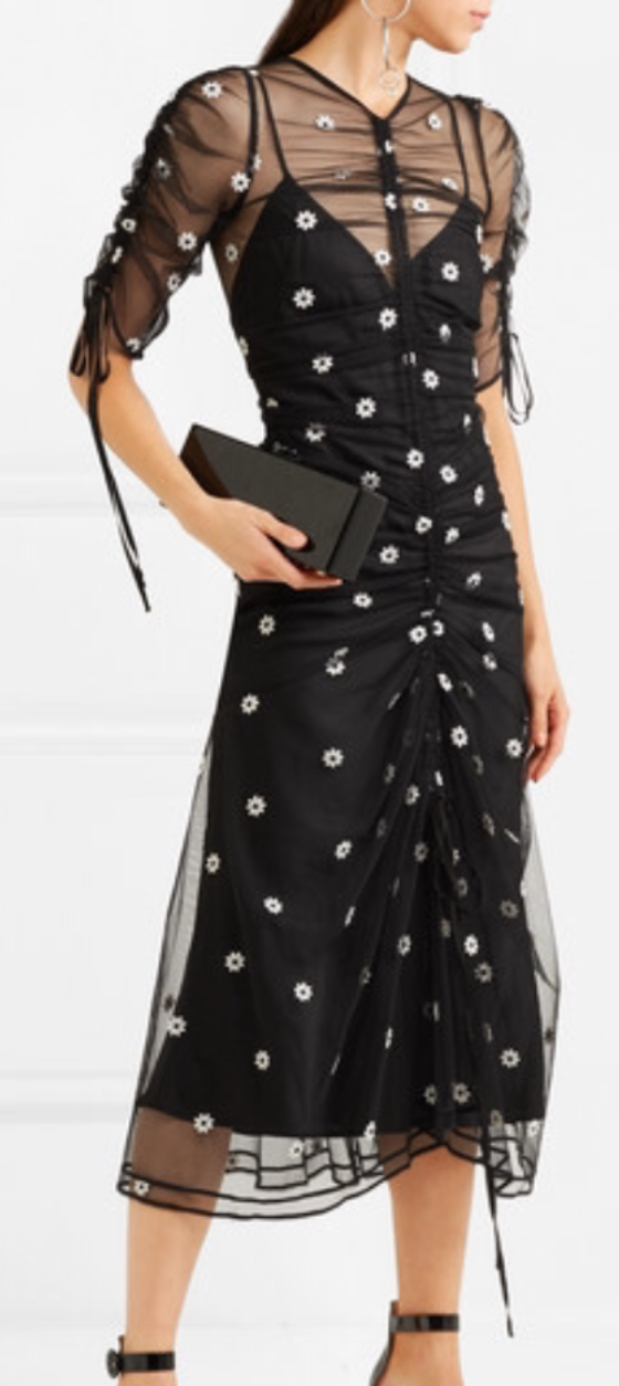 Alice McCall Garden Party Dress (Black Polkadot) Size 8