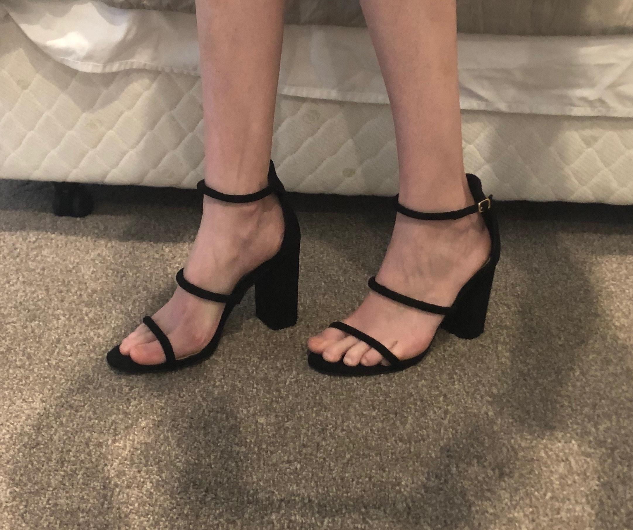 Marlie Heels | Billini | Black | Size 8