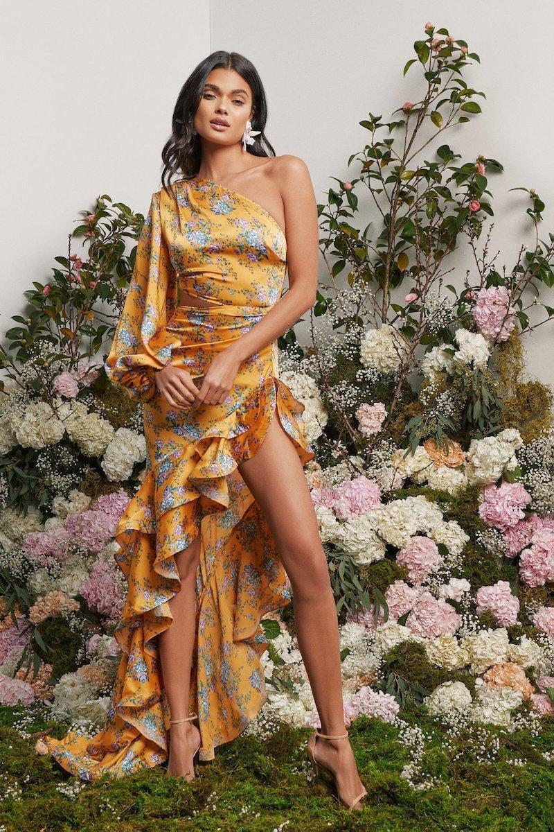 Bec & Bridge Agatha Cut Out Midi Dress Size 8 | The Volte