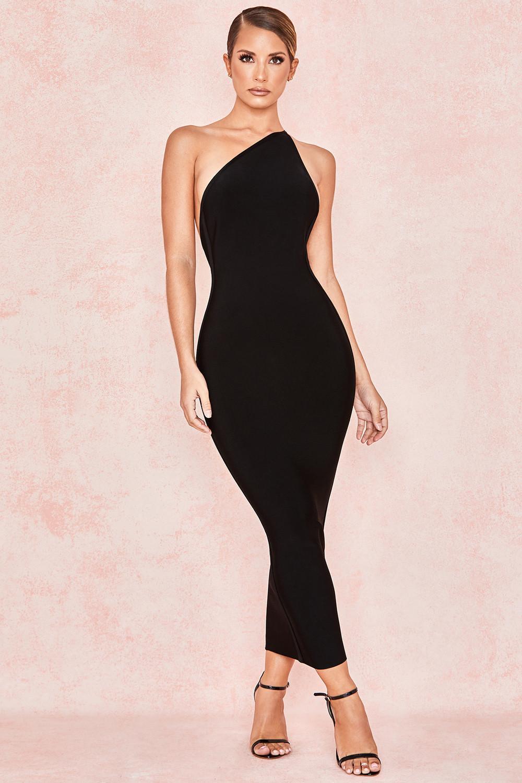 House of CB Sasha Dress Black Size 6 | The Volte
