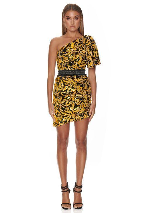 Eliya The Label Edena Dress Yellow Size 14 The Volte