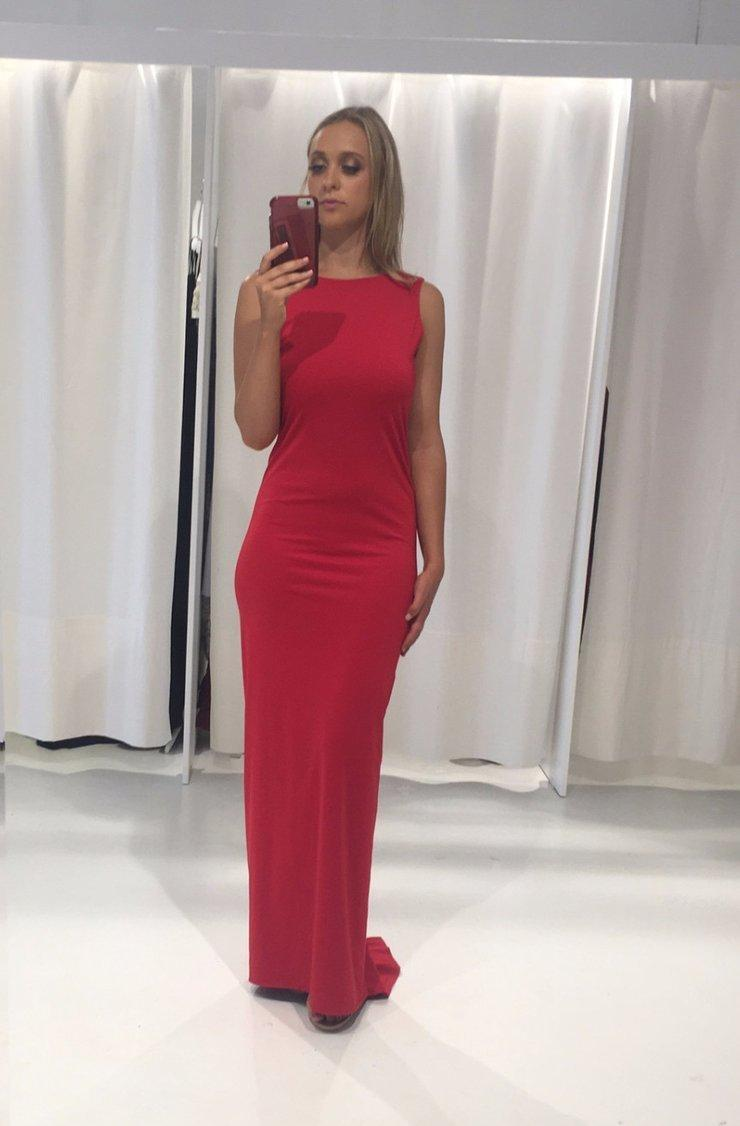 Amy Taylor Somerfields Ball Dress Red Size 6 | The Volte