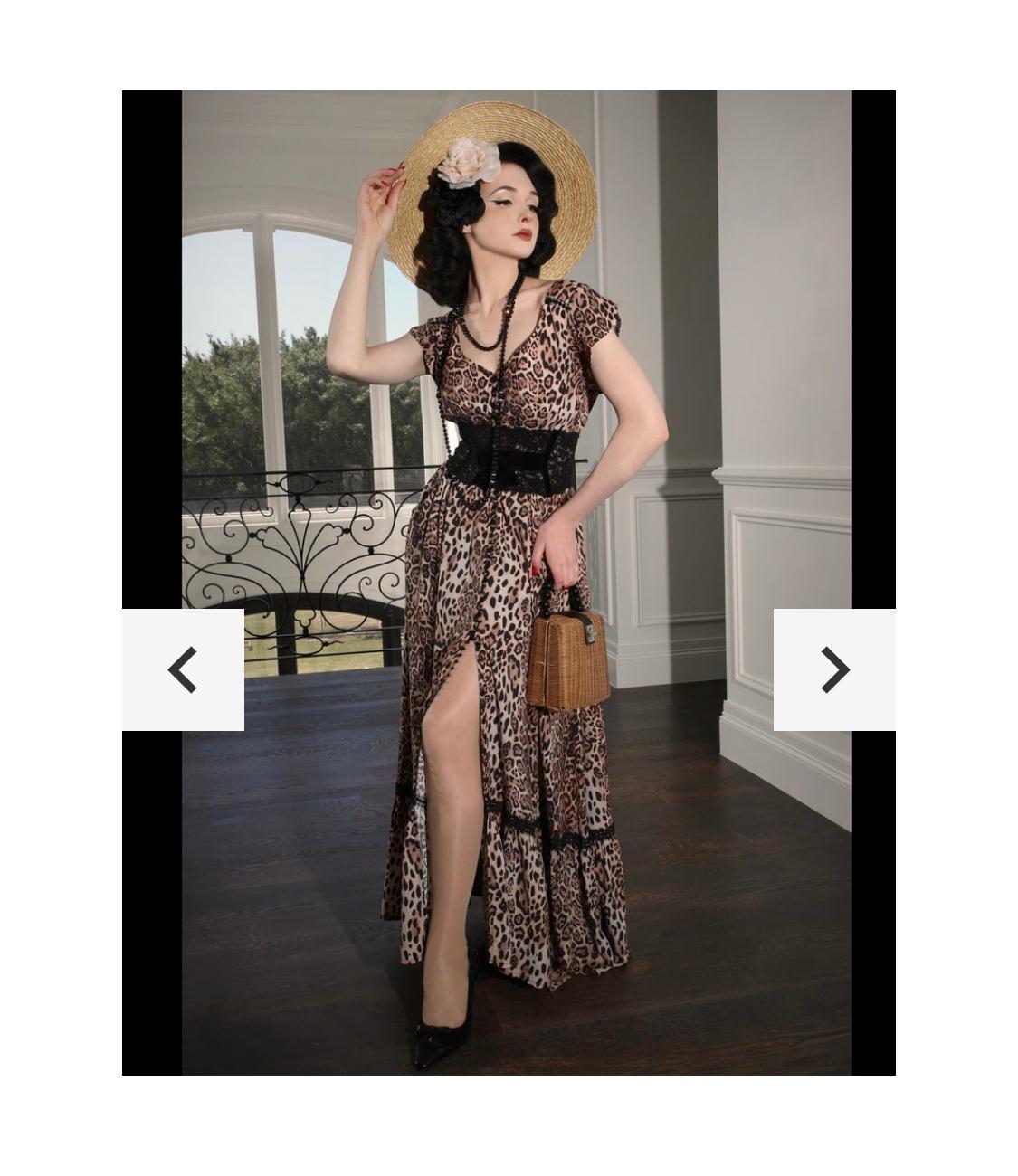 Kitten D Amour Follies What S New Pussycat Maxi Dress Size 10 The Volte