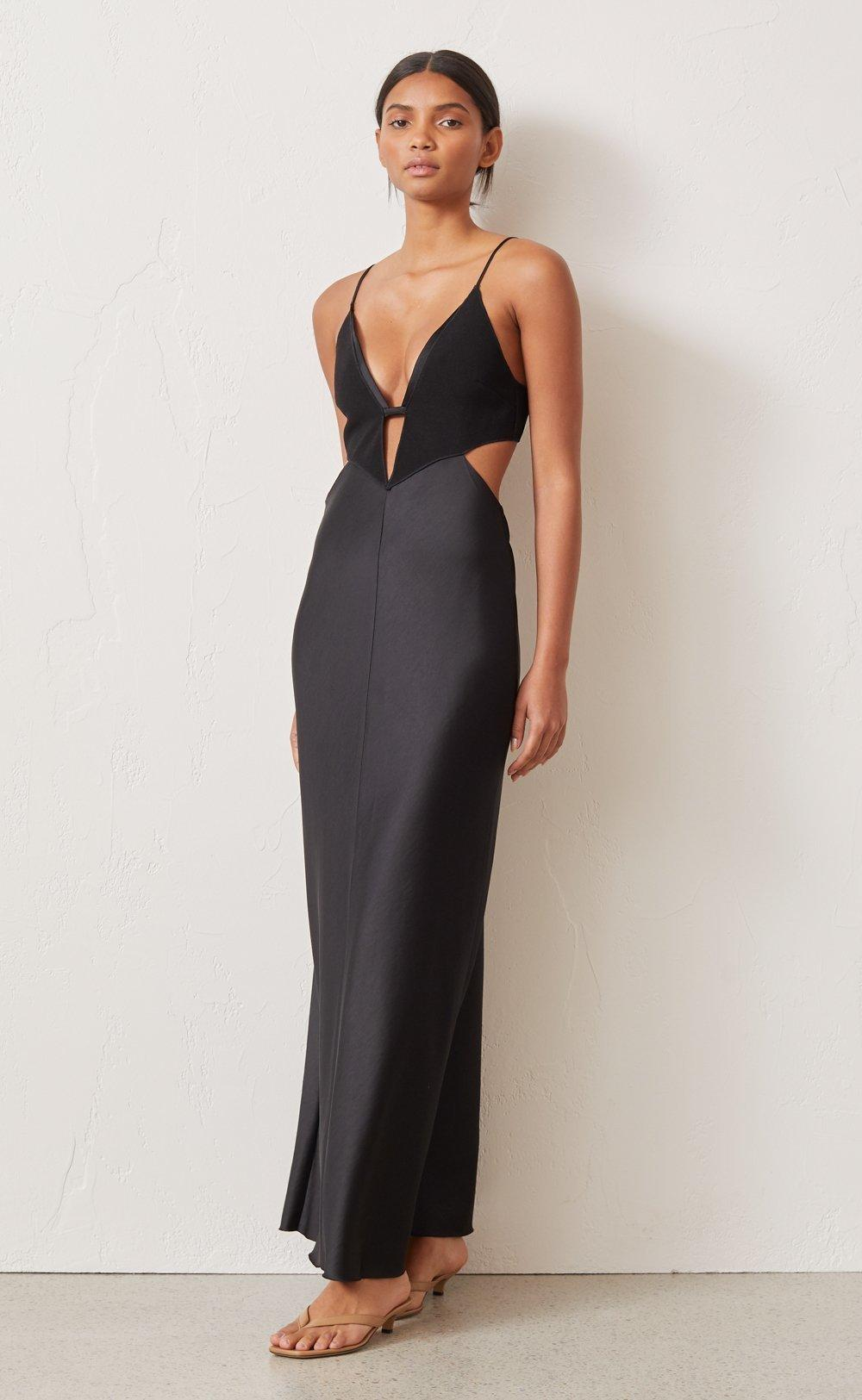 Bronx & Banco Hanna gown gold size 12 | The Volte
