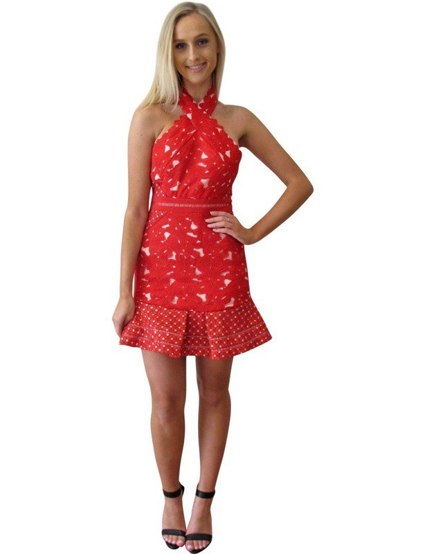 Red Lover Cocktail Dress