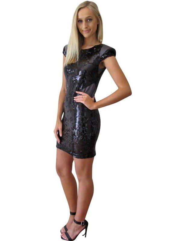 Nina Maya Black Cocktail Dress