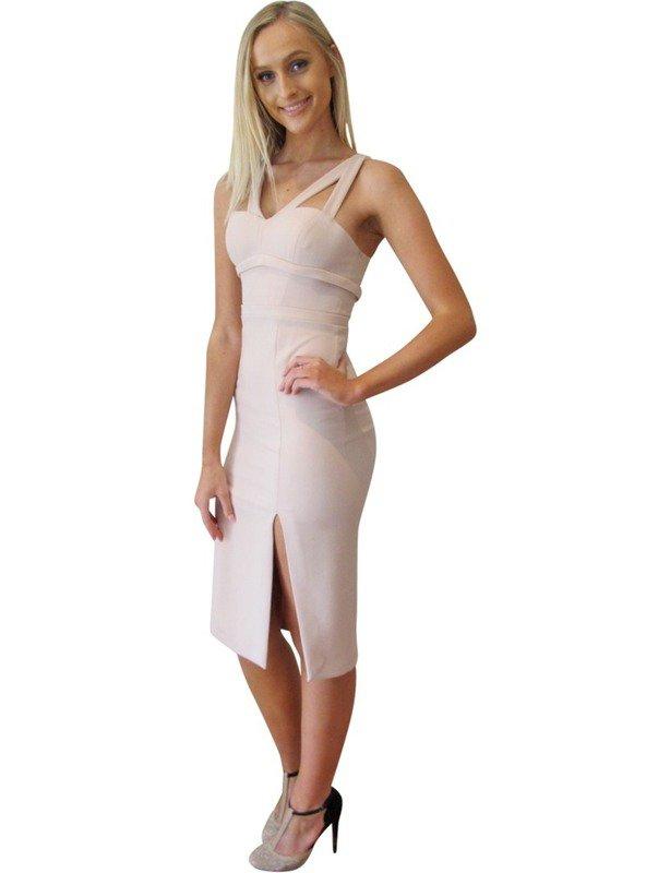 Watson X Watson Pale Pink Cocktail Dress