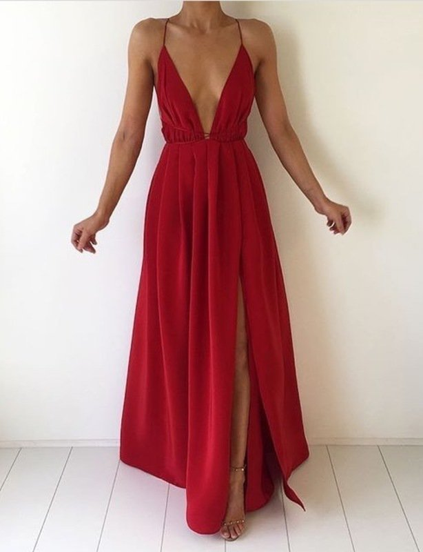 Natalie Rolt Blossom Gown (red)