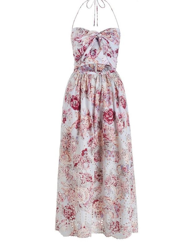Zimmermann Broderie Epoque Tie Dress