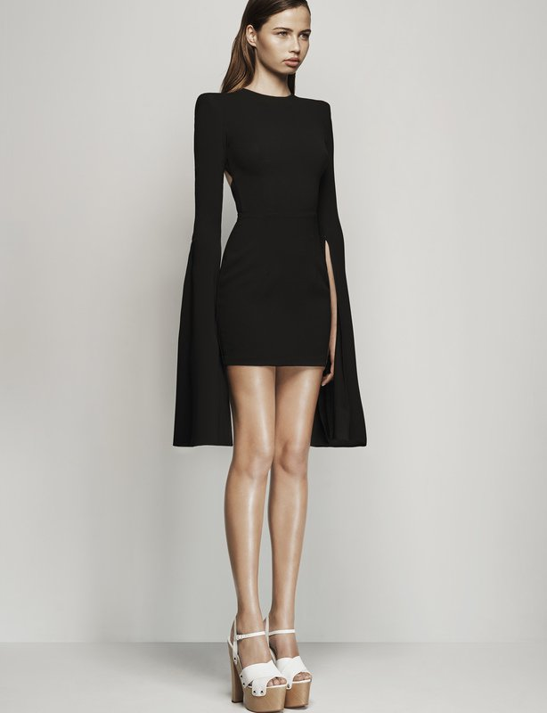 Alex Perry Black Cocktail Dress
