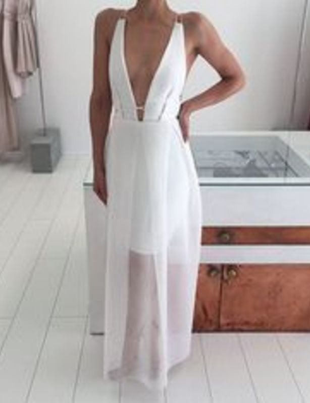 Natalie Rolt Harli Dress White