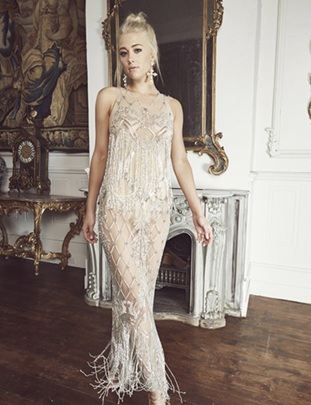 Thurley Chandalier Gown