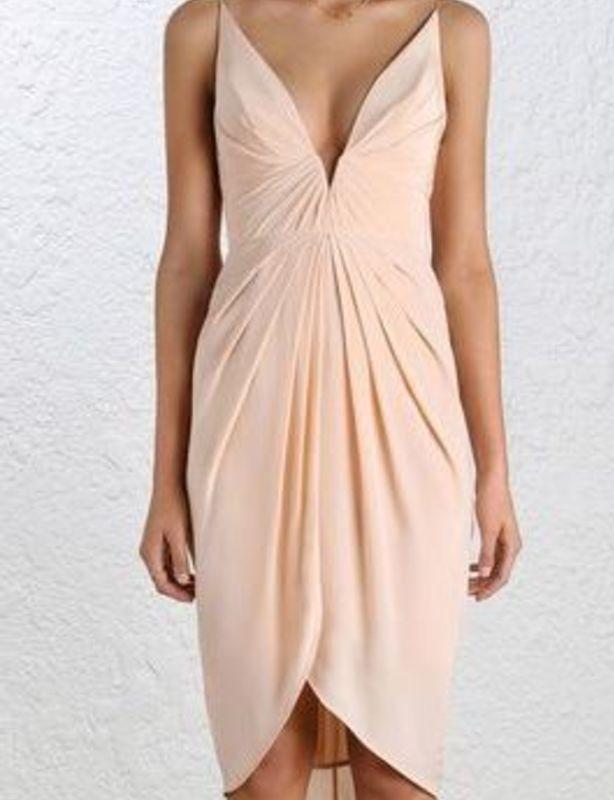 Zimmermann 'Silk V Tuck Dress'