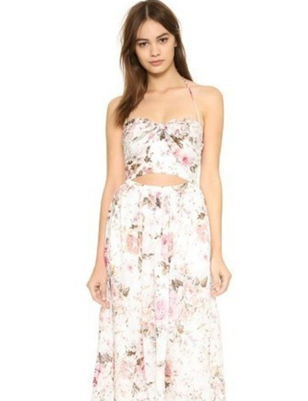 Zimmermann Embroidered Eden Tie Dress (size 1)