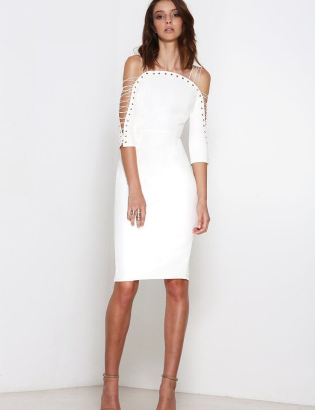 Premonition Devoted White Dress
