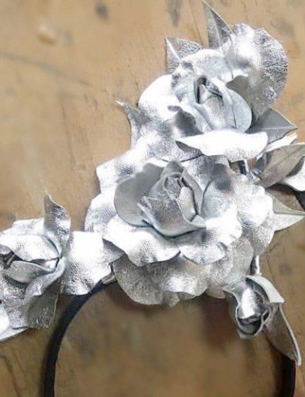 Millinery Jil - Silver