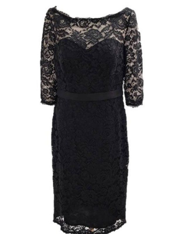 JJ'S  Sheath lace cocktail dress