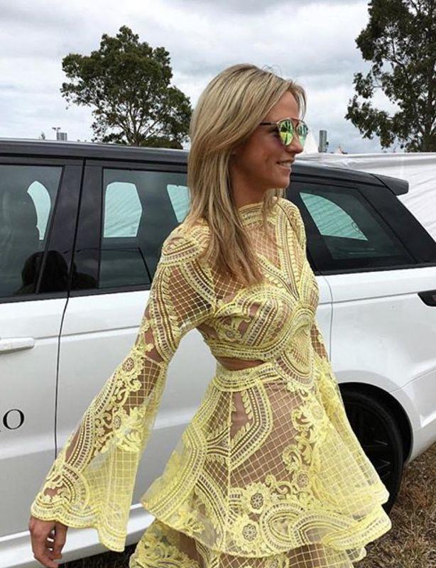 Thurley yellow dress