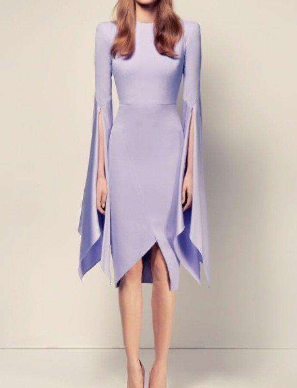 ALEX PERRY CARA SPLIT LADY DRESS Size 8
