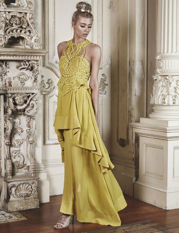 Thurley Beaded Empire Dress size 10