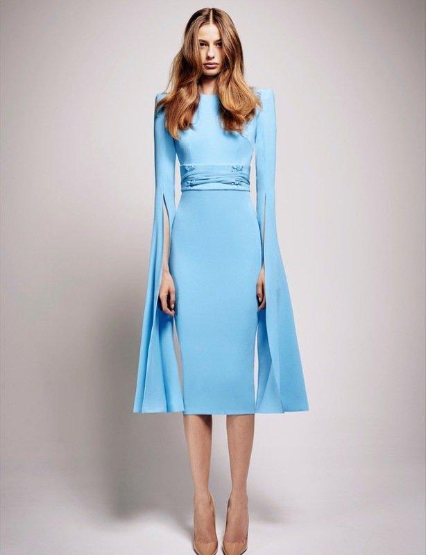 Alex Perry Chloe Dress – Blue size 8