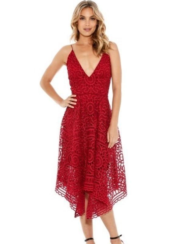 Nicholas Berry Floral Lace Ball Dress size 10