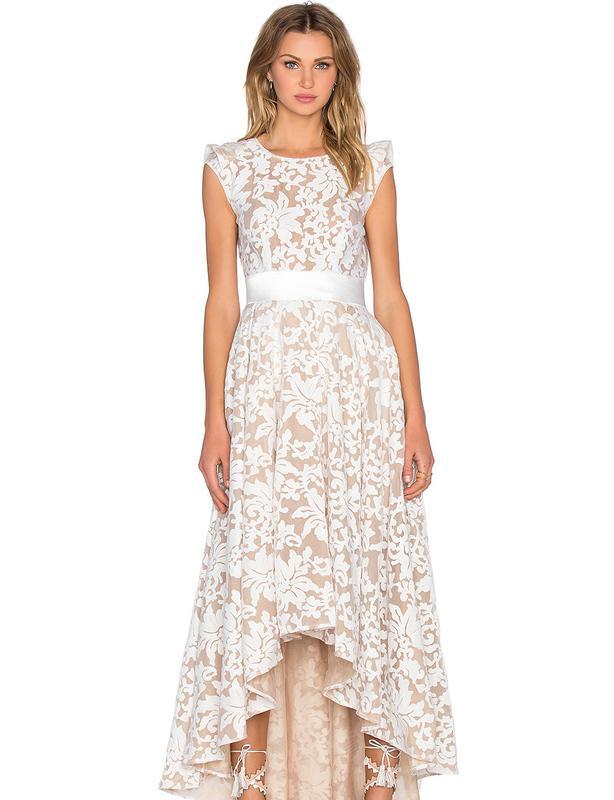 Bronx & Banco Bohem Nude Print Dress size 10