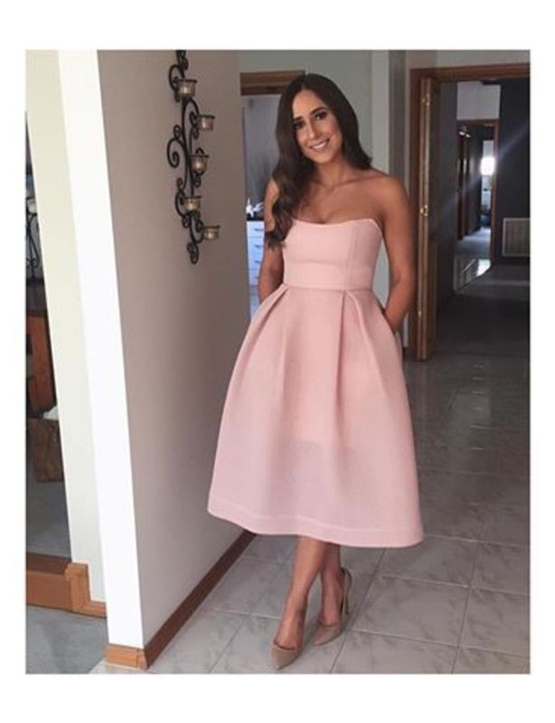 Nicholas Blush Mesh Ball Dress size 8