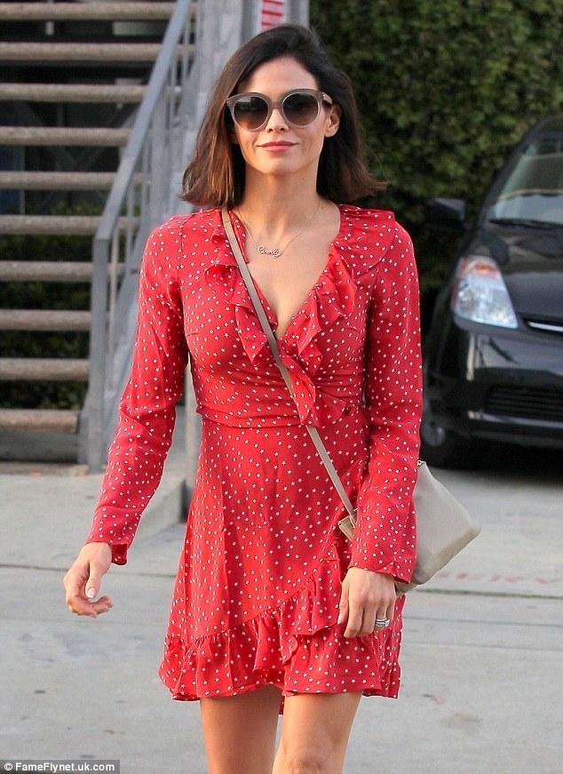 Star Red Dress