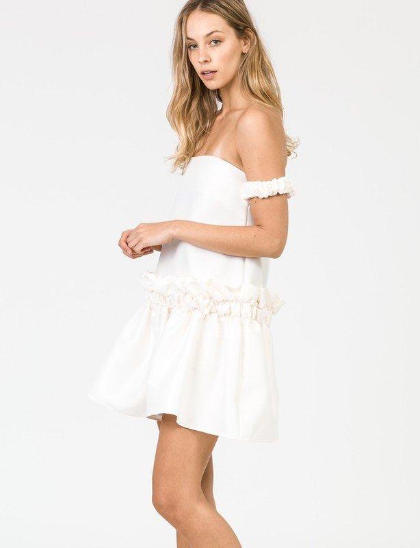 Didier Off Shoulder Mini Dress
