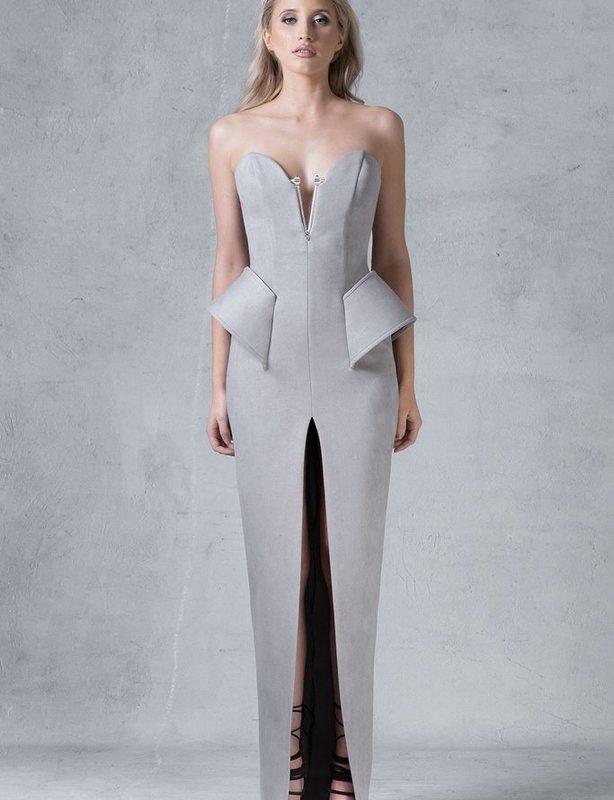Mania Dress in Grey