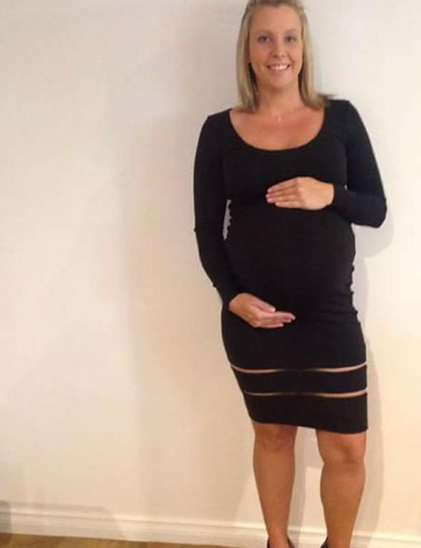 Kookai Panelled Dress Black Size 8