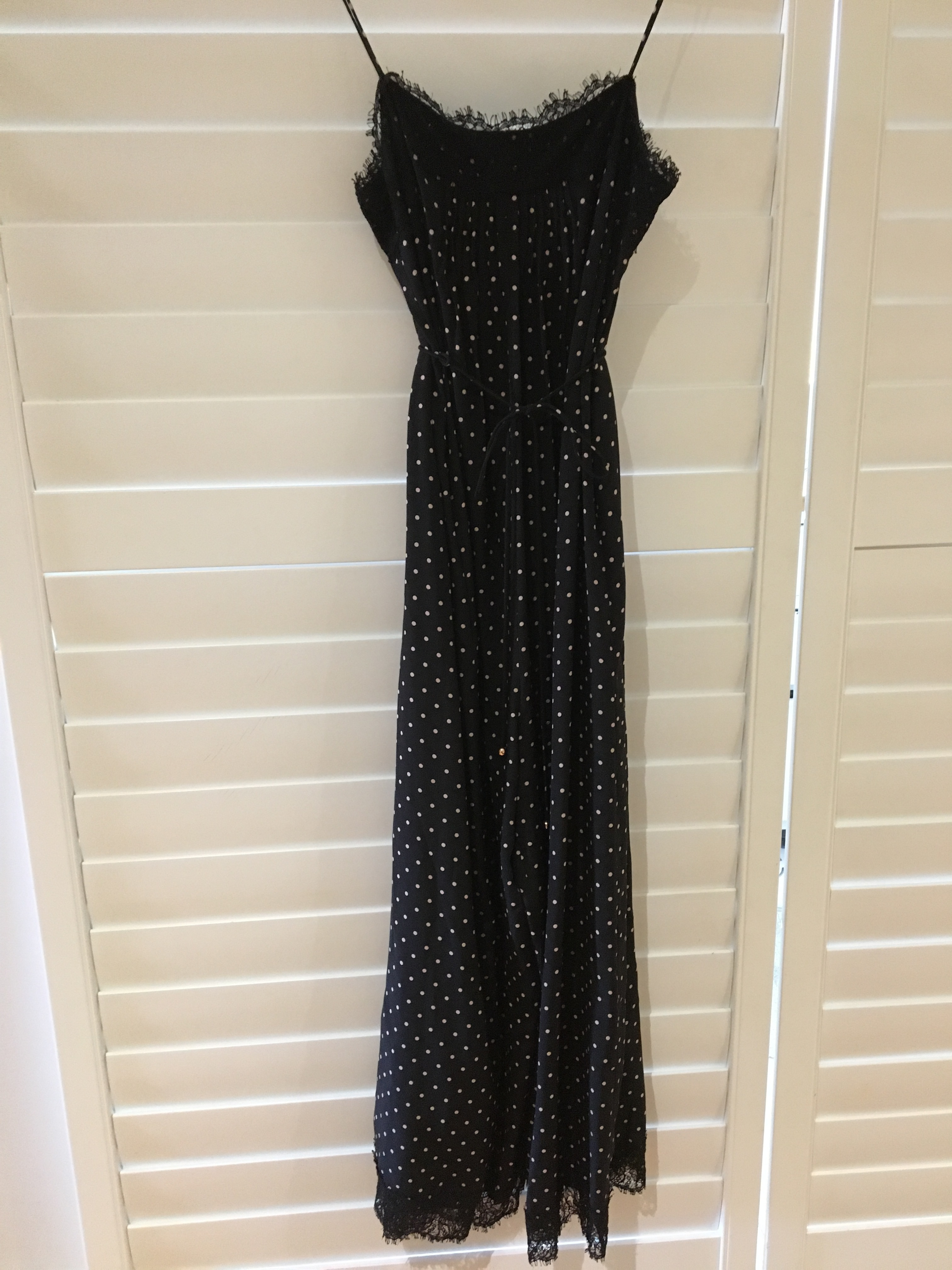 1aa0b9593e Navy polka dot and lace jumpsuit · Zimmerman - Navy polka dot jumpsuit