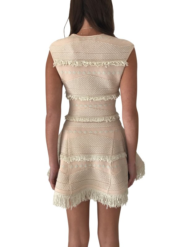 ALICE MCCALL LOVE LIKE LAUGHTER DRESS SHELL PINK NUDE SIZE 10