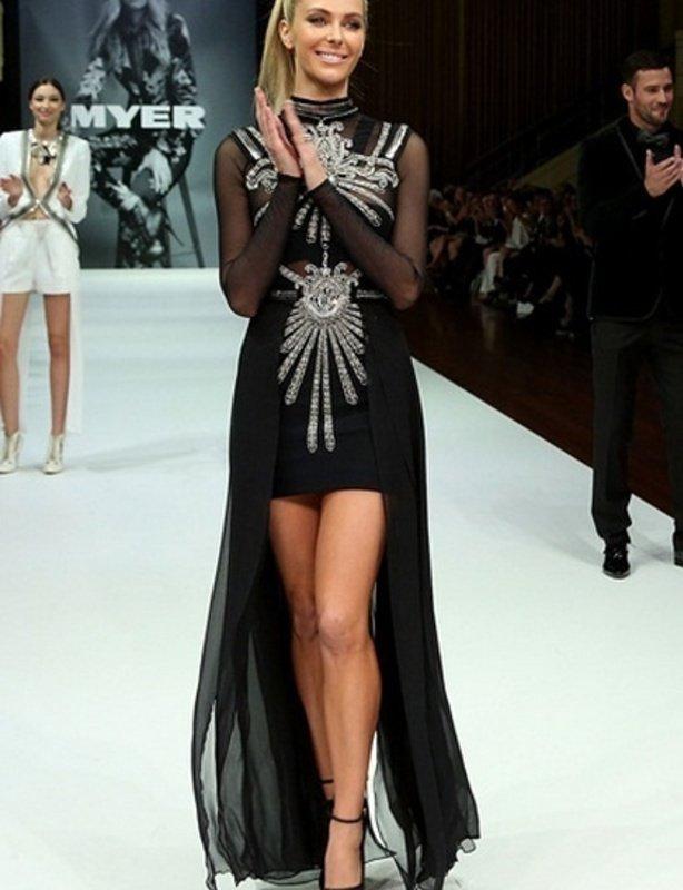 Sass & Bide Black Gallery Dress size 8
