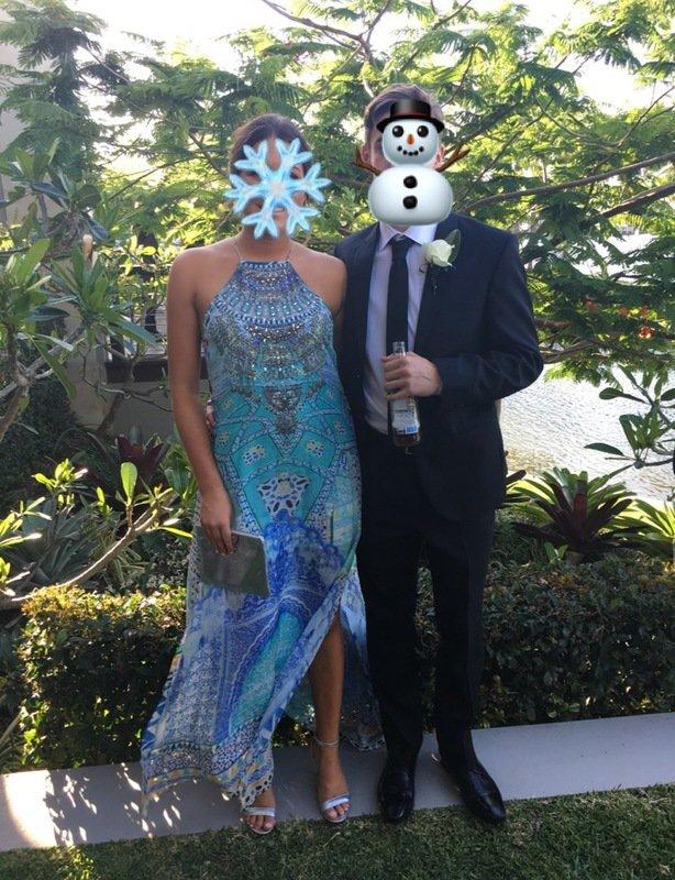 Camilla Sultans Gate Sheer Overlay Dress